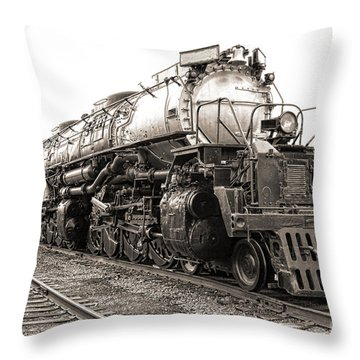 4884 Big Boy Throw Pillow by Olivier Le Queinec