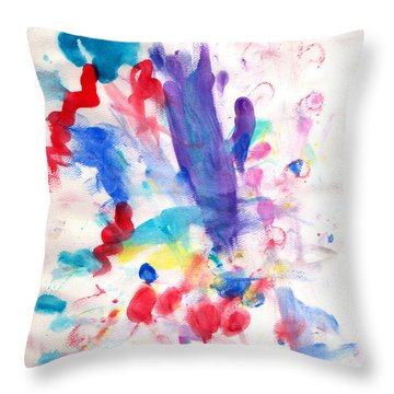 4th Of July Throw Pillow by Fred Wilson