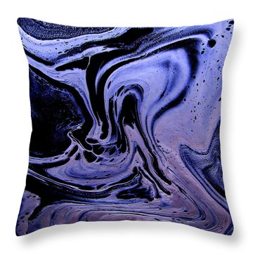 Abstract 23 Throw Pillow by J D Owen