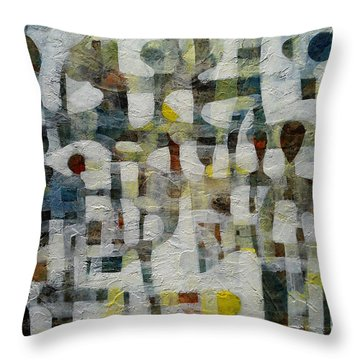 5 And More Throw Pillow