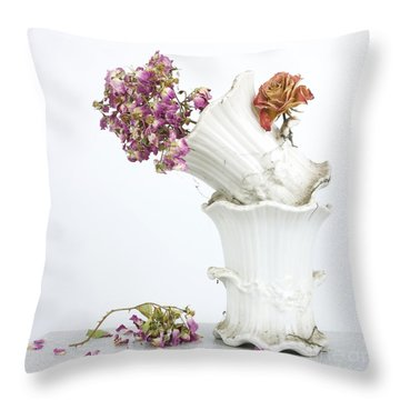 Bouquet Throw Pillow by Bernard Jaubert