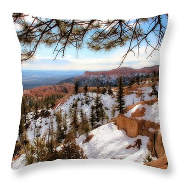 Bryce Canyon Throw Pillow