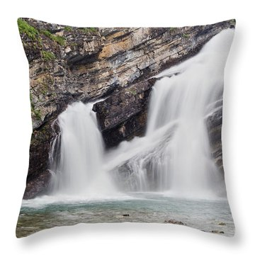 Cameron Falls Throw Pillow