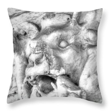 Throw Pillow featuring the pyrography Element by Yury Bashkin