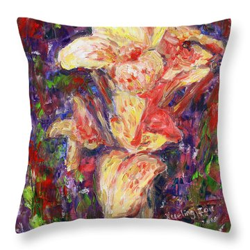 First Lady Throw Pillow by Xueling Zou