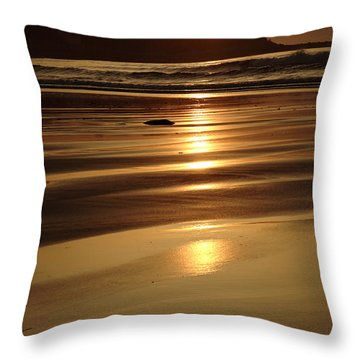 Hampton Beach New Hampshire Usa Throw Pillow