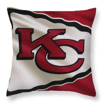 Kansas City Chiefs Throw Pillows