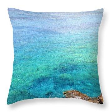 La Perouse Bay Throw Pillow by Jenna Szerlag
