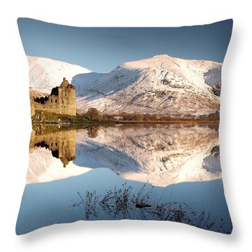 Throw Pillow featuring the photograph Loch Awe by Grant Glendinning