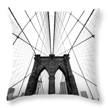 New York State Throw Pillows