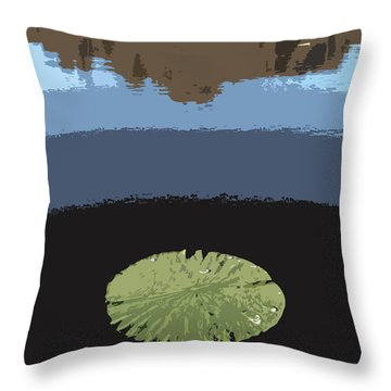Rayburn Lilly Pads Throw Pillow