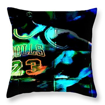 Throw Pillow featuring the digital art 5 Seconds Left by Brian Reaves