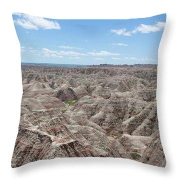 The Badlands Throw Pillow
