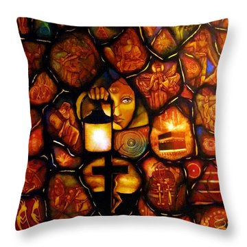 The Seeker Throw Pillow
