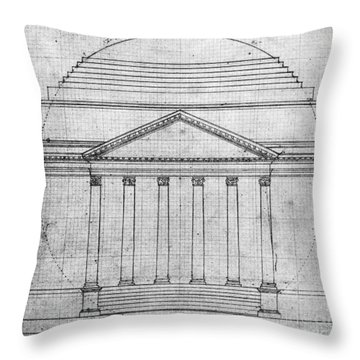 University Of Virginia Throw Pillow