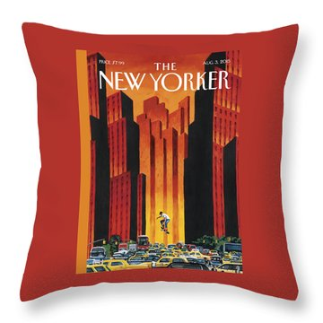 The Endless Summer Throw Pillow
