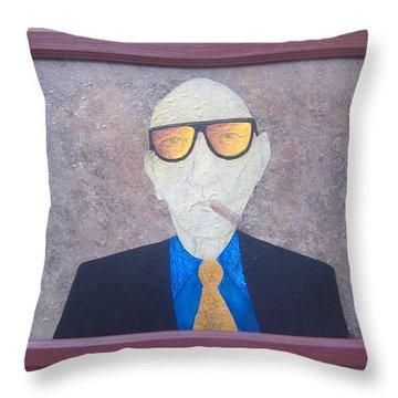Wild Bill Dub Throw Pillow by Steve  Hester