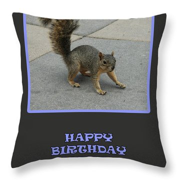 5 Years Old Throw Pillow by Randi Grace Nilsberg