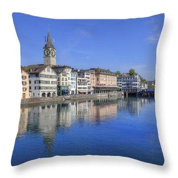 Zurich Throw Pillow by Joana Kruse