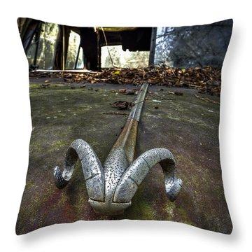 50s Dodge Ram Ornament Throw Pillow