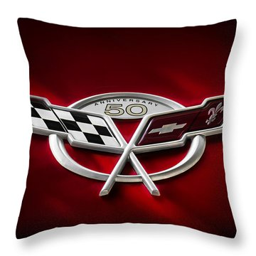 50th Anniversary Throw Pillow