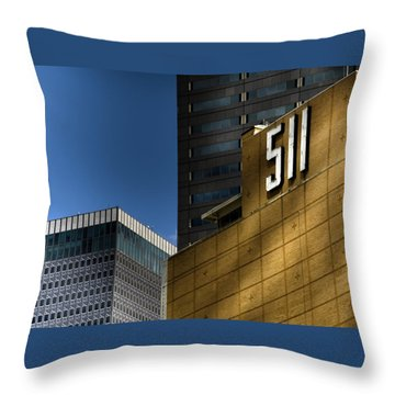 511 Throw Pillow by Darryl Dalton