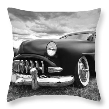 52 Hudson Pacemaker Coupe Throw Pillow