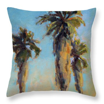 Pacific Breeze Throw Pillow