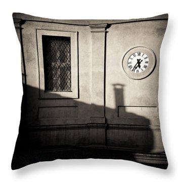 5.35pm Throw Pillow