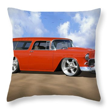 55 Nomad Throw Pillow
