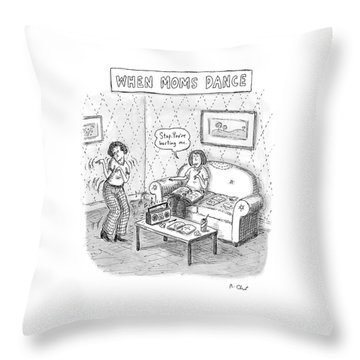 New Yorker September 11th, 2006 Throw Pillow