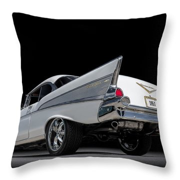 '57 Bel Air Throw Pillow