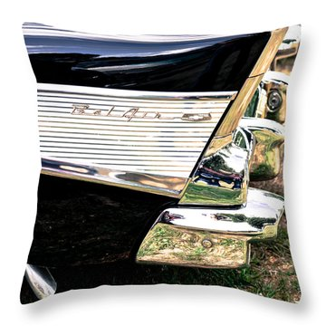 '57 Chevy Bel Air Throw Pillow