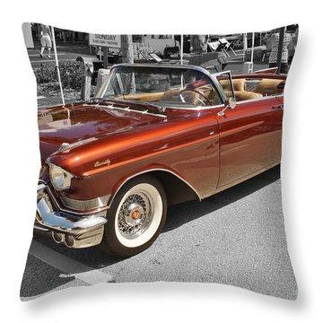 '57 Eldo Biarritz Throw Pillow