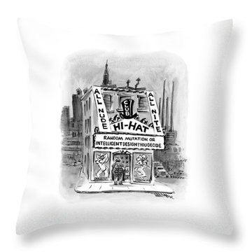 New Yorker November 21st, 2005 Throw Pillow