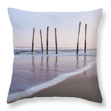 59th Street Throw Pillow