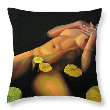 6 30 A.m. Throw Pillow