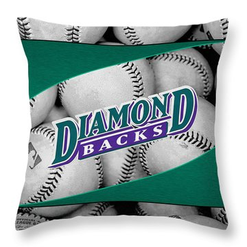 Arizona Diamondbacks Throw Pillow