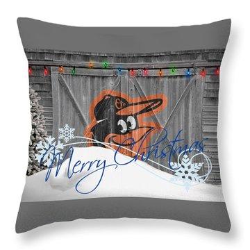 Oriole Throw Pillows