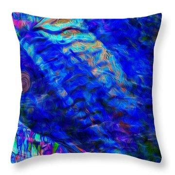 Beneath The Waves Series Throw Pillow