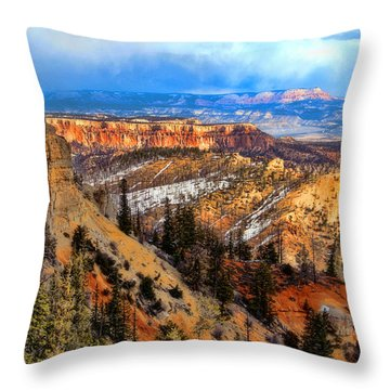 Bryce Canyon  Throw Pillow by Marti Green