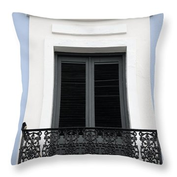 Colorful Old San Juan Throw Pillow