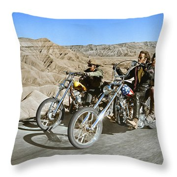 Dennis Hopper Throw Pillows
