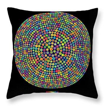 Data Visualization Throw Pillows