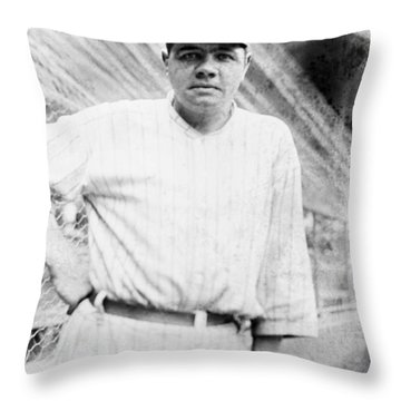 George H Throw Pillow