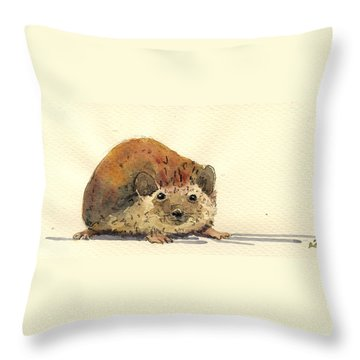 Rodent Throw Pillows