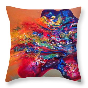 Morning Glory Sold Out Throw Pillow