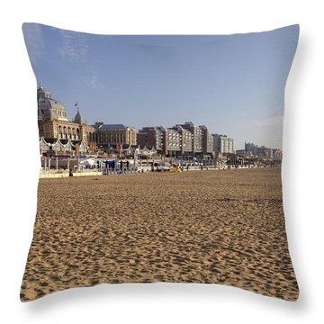 Scheveningen Throw Pillow by Joana Kruse