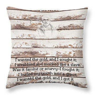Spell Of Yukon Throw Pillow