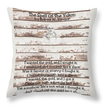 Spell Of Yukon Throw Pillow